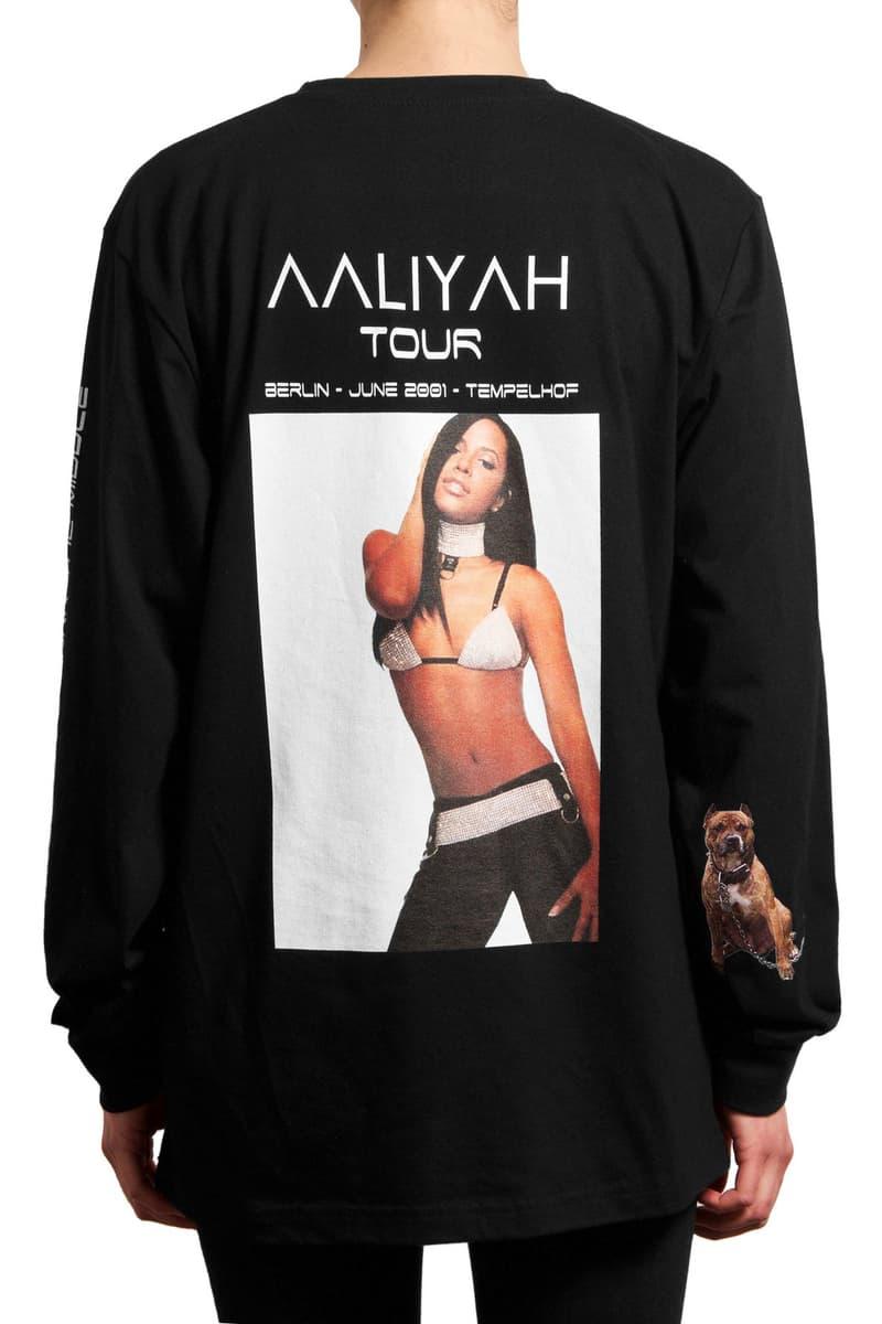 032c AALIYAH Tribute Shirt