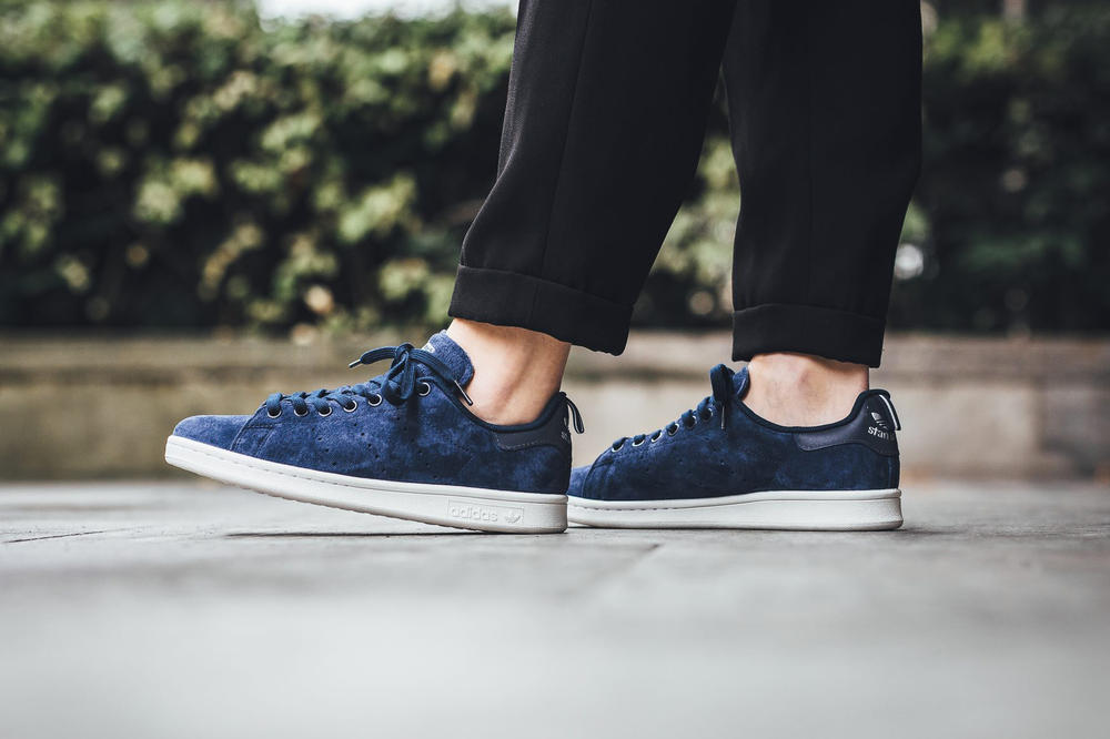 adidas originals stan smith collegiate navy royal blue
