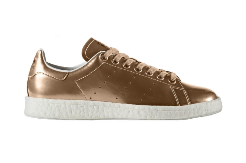 adidas Stan Smith BOOST Metallic Silver Copper