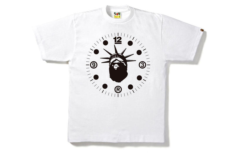 BAPE NYC Store 12 Year Anniversary T-Shirt Collection