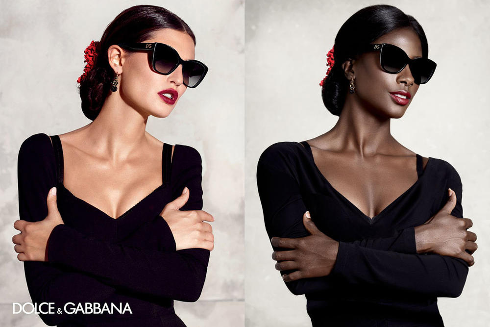 Black Model Deddeh Howard Diversity Recreating Fashion Ad Campaigns