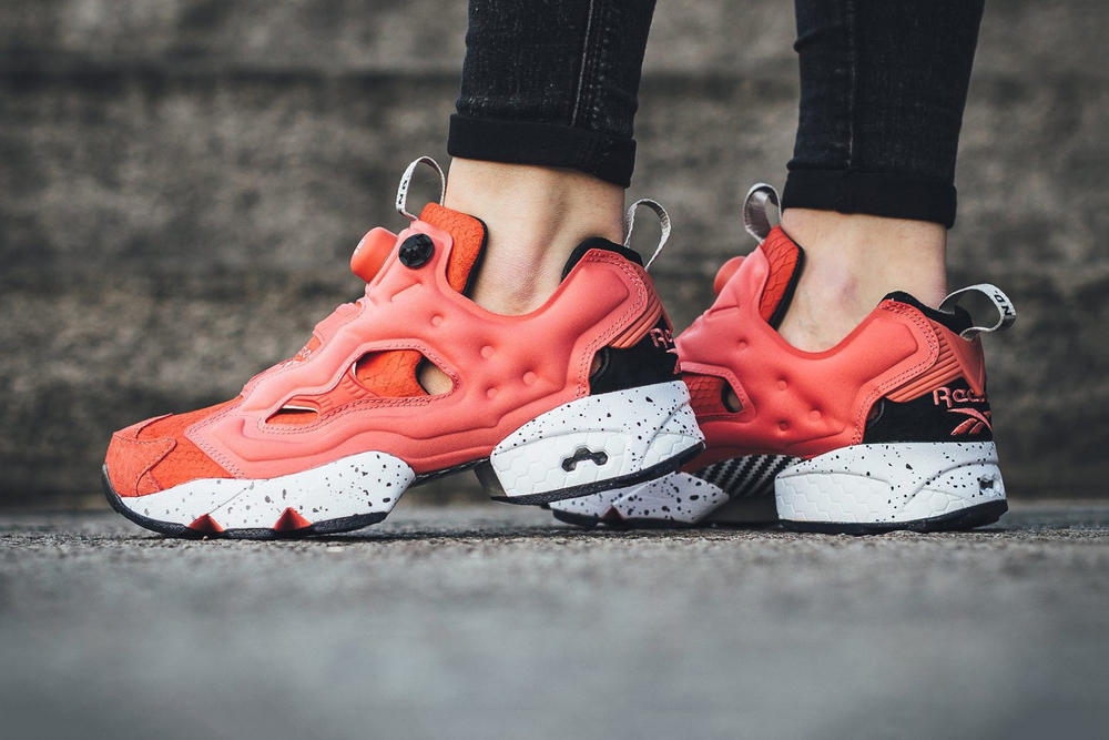 8cd3cbf7 END. x Reebok Drop Instapump Fury OG Pink Salmon | HYPEBAE