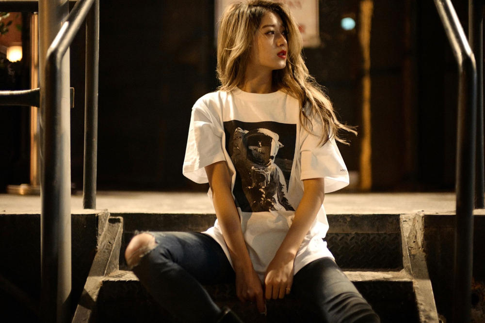 Fxxking Rabbits x HYPEBEAST 2016 Fall Smoking Kills Astronaut T-shirts