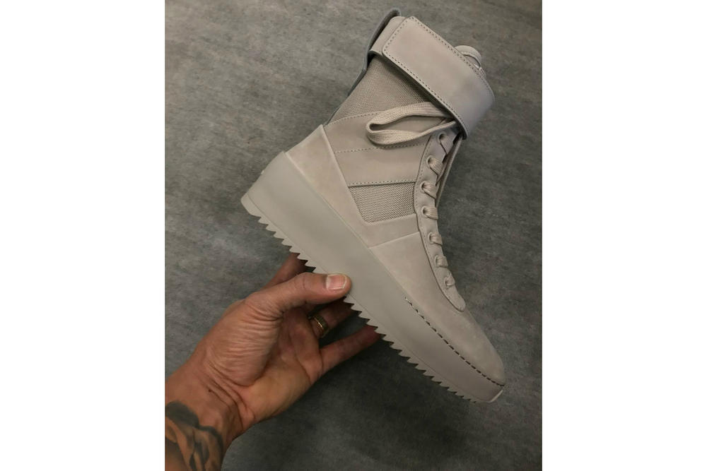 23d0ce63d969 Jerry Lorenzo to Drop Fear of God Military Sneaker for Women