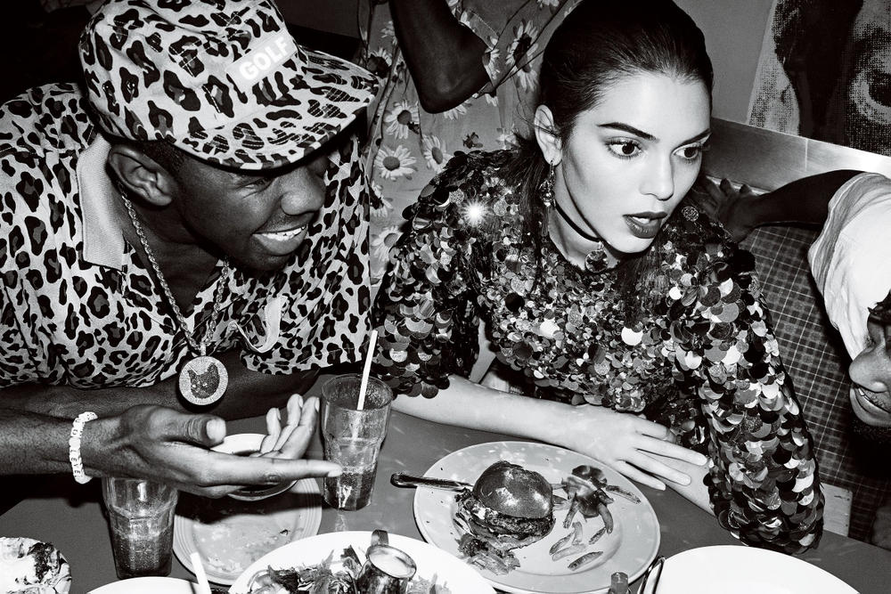 Kendall Jenner Tyler the Creator Vogue January 2017