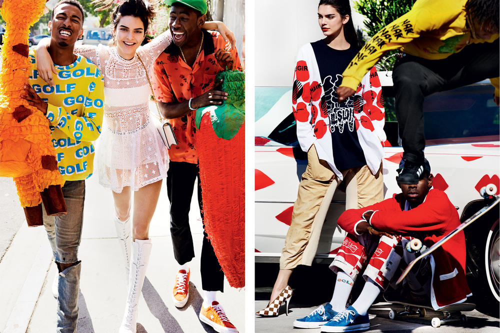 77f21ecd8f1e Kendall Jenner Tyler the Creator Vogue January 2017