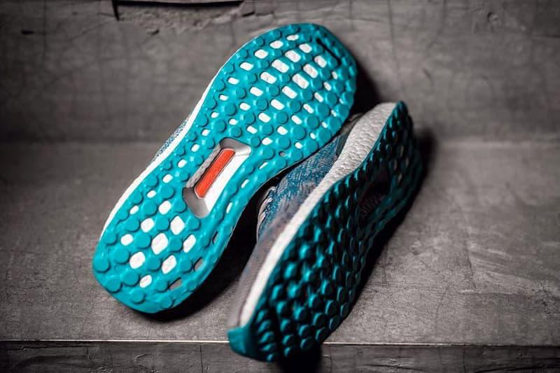 kolor adidas UltraBOOST Uncaged Aqua Blue