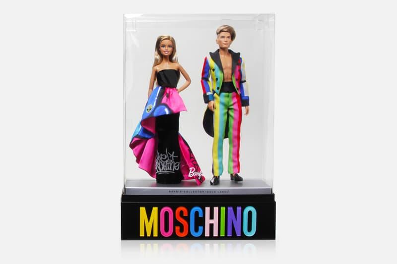 Moschino Jeremy Scott Stella Maxwell Barbie Ken Doll