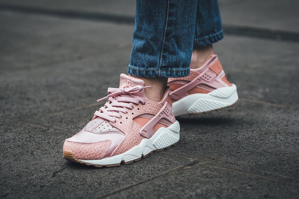 Nike Air Huarache Run Premium Pink Glaze Pearl