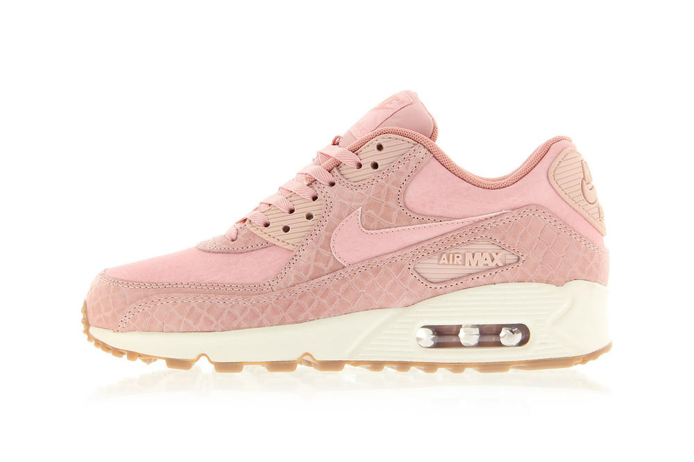 e701e4f524cd Nike Air Max 90 Premium Pink Glaze Is Here