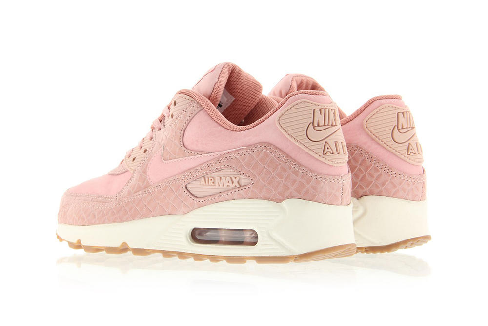 sports shoes b3e82 f537c Nike Air Max 90 Premium Pink Glaze