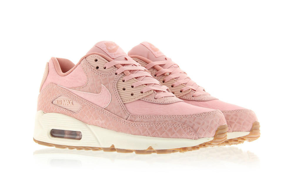 great fit d6296 720de Nike Air Max 90 Premium Pink Glaze Is Here | HYPEBAE