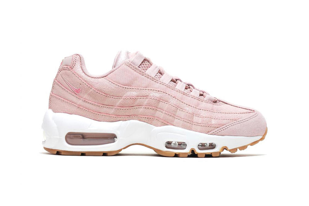 buy popular 5650a 728d0 nike air max 95 womens pink gold