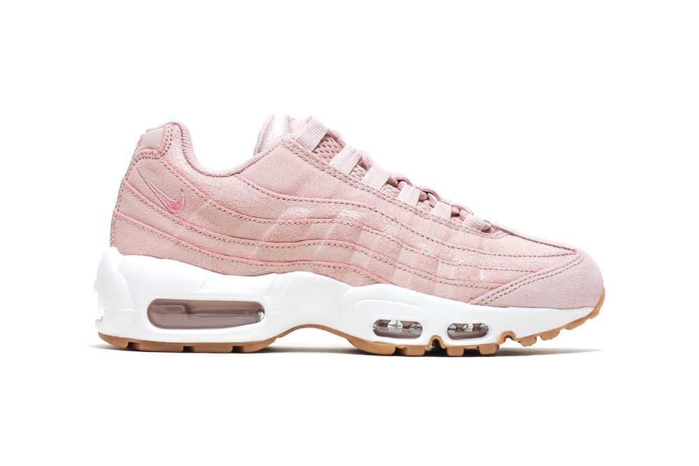d4d7a4b57ce72 Nike Air Max 95 Premium Baby Pink