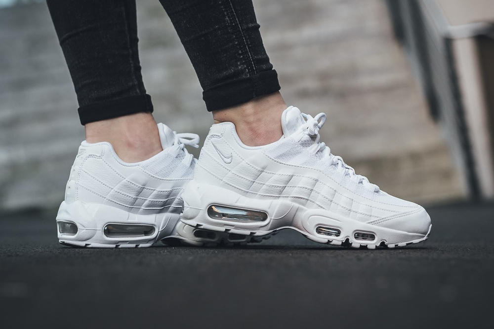 Nike Air Max 95 White Pure Platinum