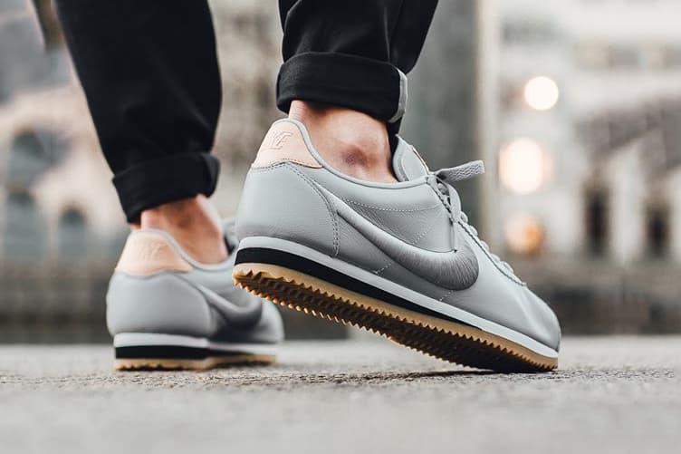 Nike Classic Cortez Leather Premium Wolf Grey