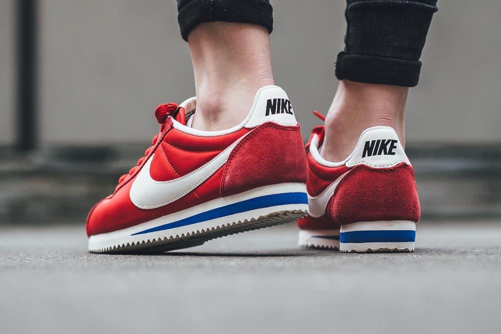 Nike Classic Cortez Nylon Premium University Red