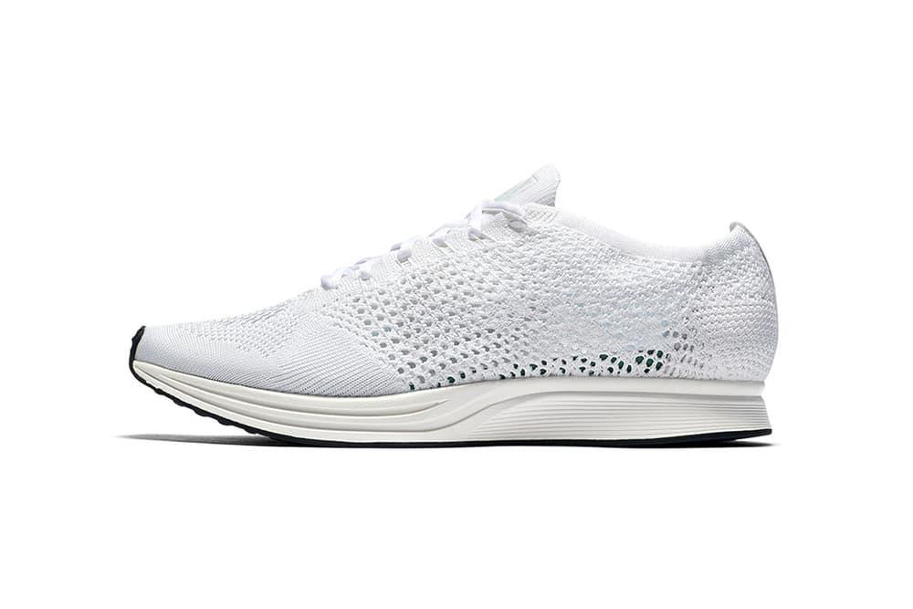 Nike Flyknit Racer White Sail
