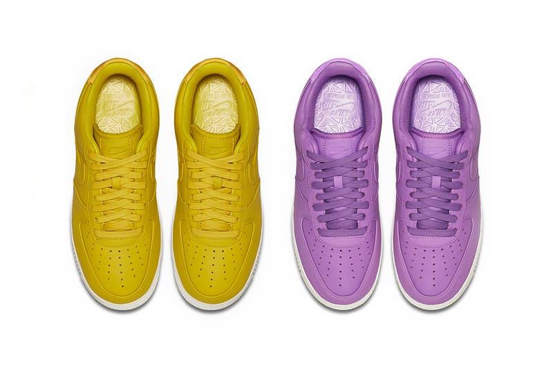 NikeLab Air Force 1 Citron Purple Stardust