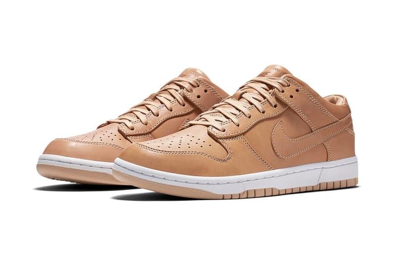 NikeLab Vachetta Tan Dunk Luxe Low
