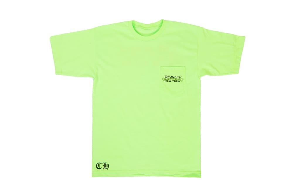 786ea6894462 OFF-WHITE x Chrome Hearts Collaborate on T-Shirt Capsule