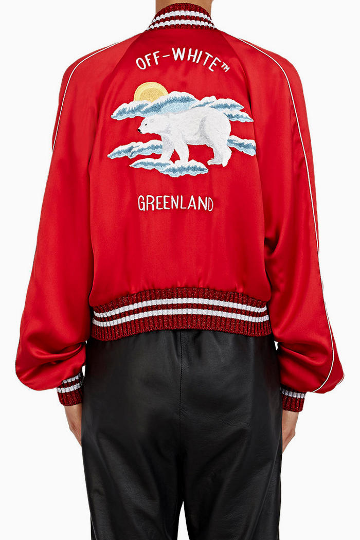 OFF-WHITE Souvenir Jacket Red Turquoise