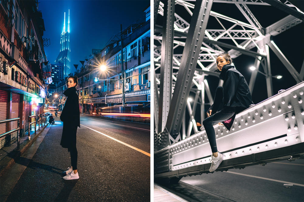 onu shanghai editorial lookbook 2016 winter activewear sportswear