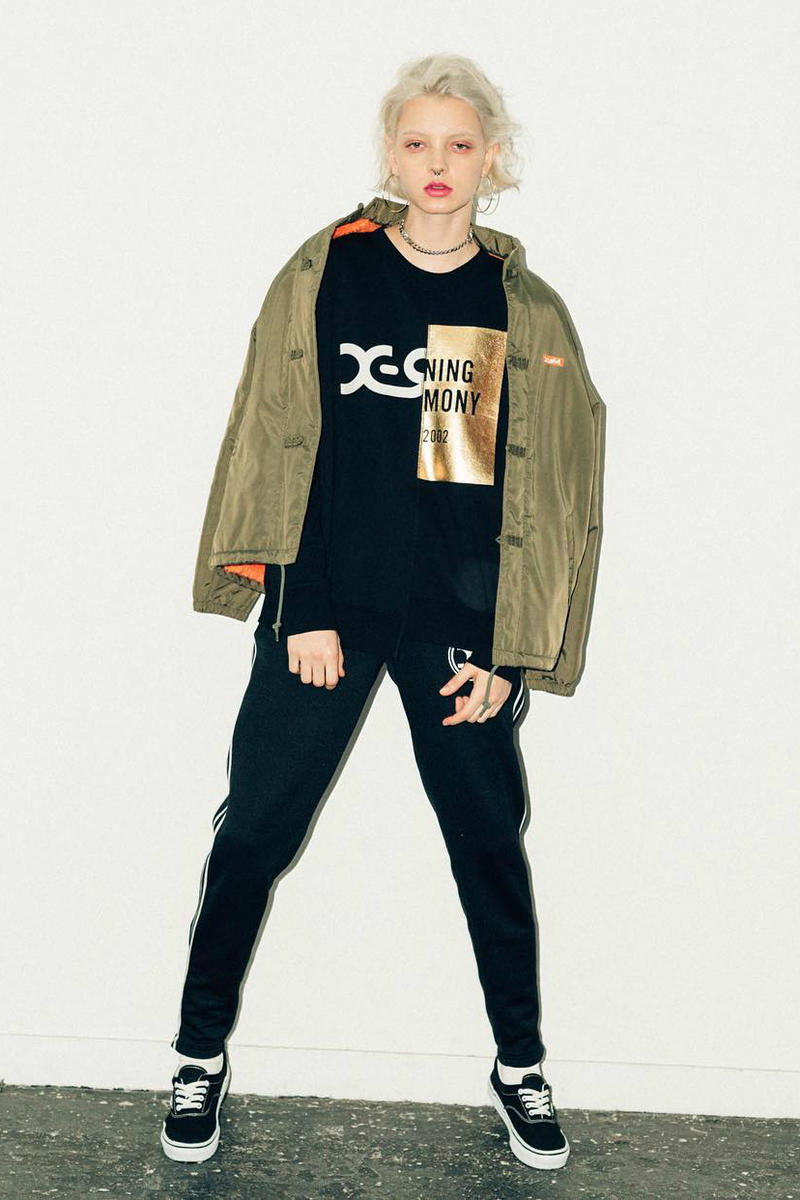 X-Girl Opening Ceremony Collaboration 2016 Fall Winter