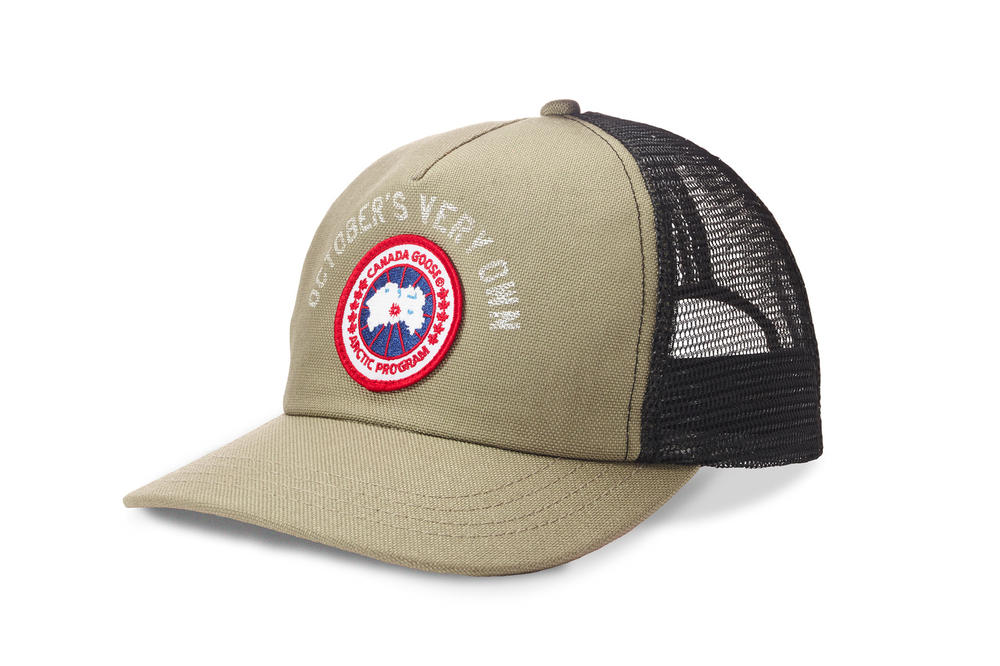 ovo octobers very own canada goose special edition chilliwack bomber trucker hat