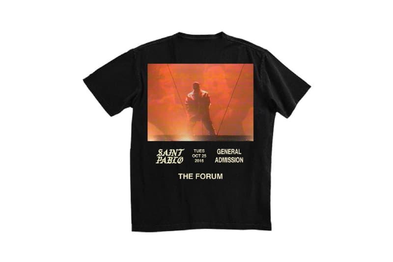 Kanye West Saint Pablo Tour Merch