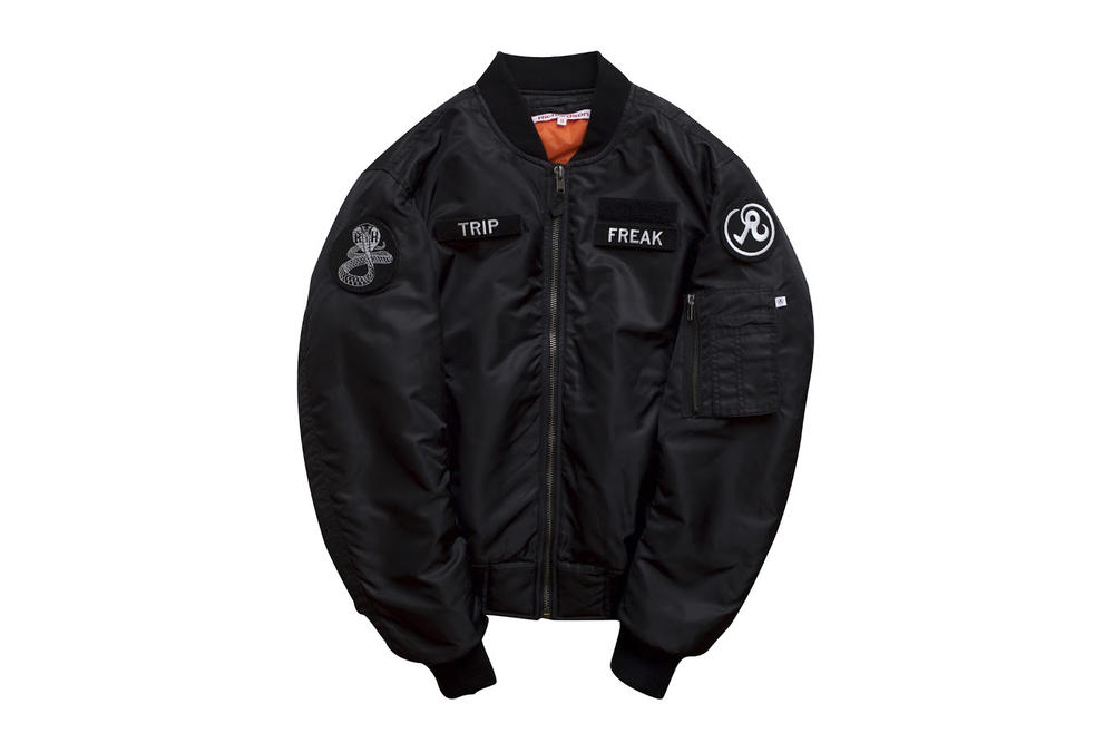 richardson ma-1 bomber jacket