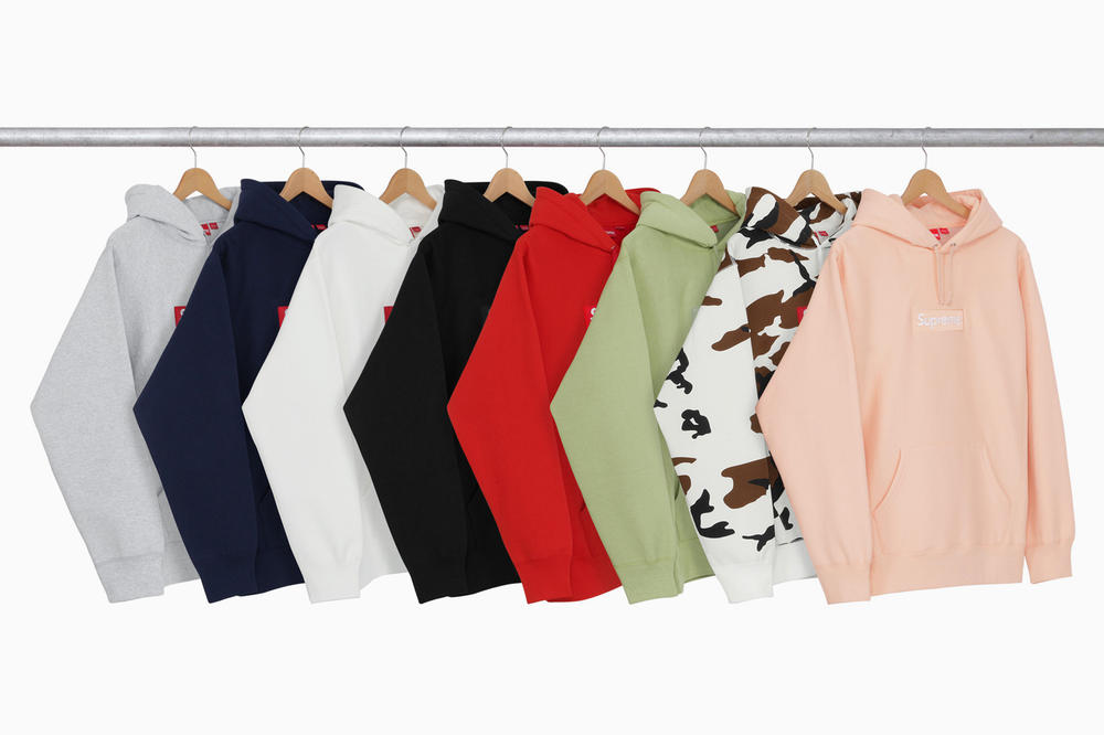 Supreme 2016 Fall Winter Box Logo Hoodie Re-release  73ed3bb25d