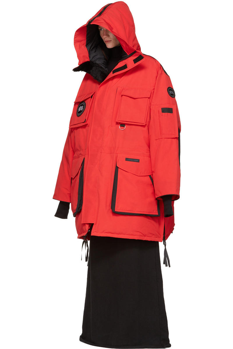 d976d5c3c Buy Vetements x Canada Goose's Oversized, Overlong Outerwear Now