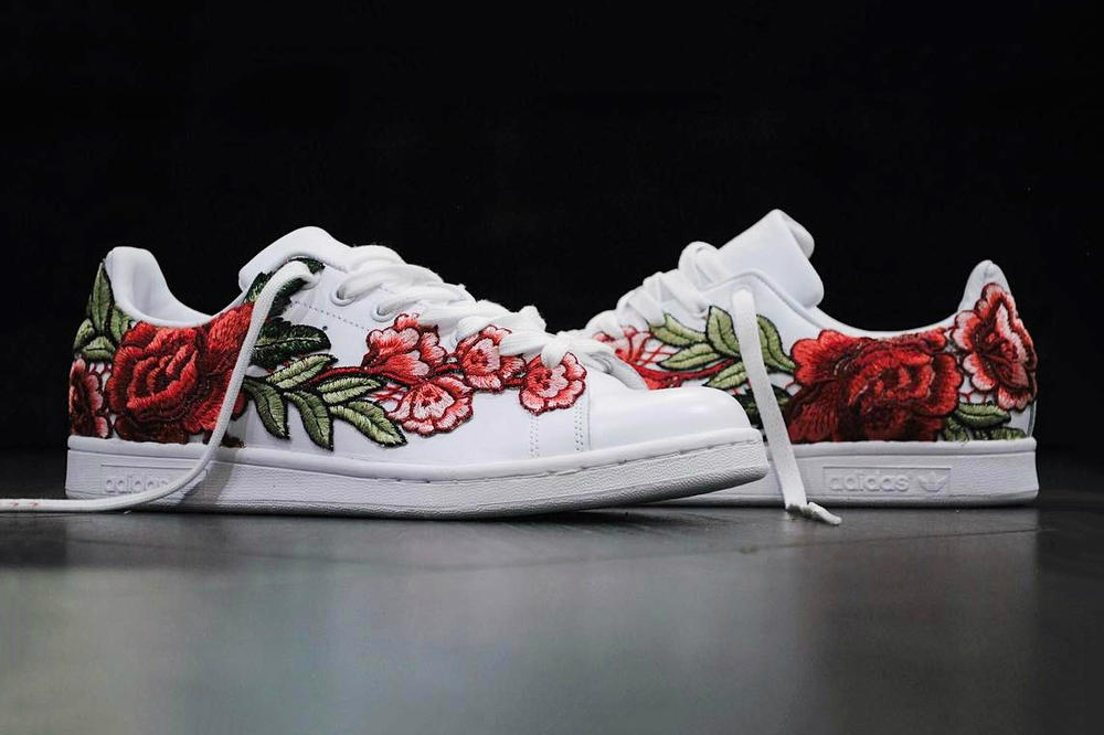 ded3f3b38925 Check out adidas Stan Smith Flowerbomb Custom