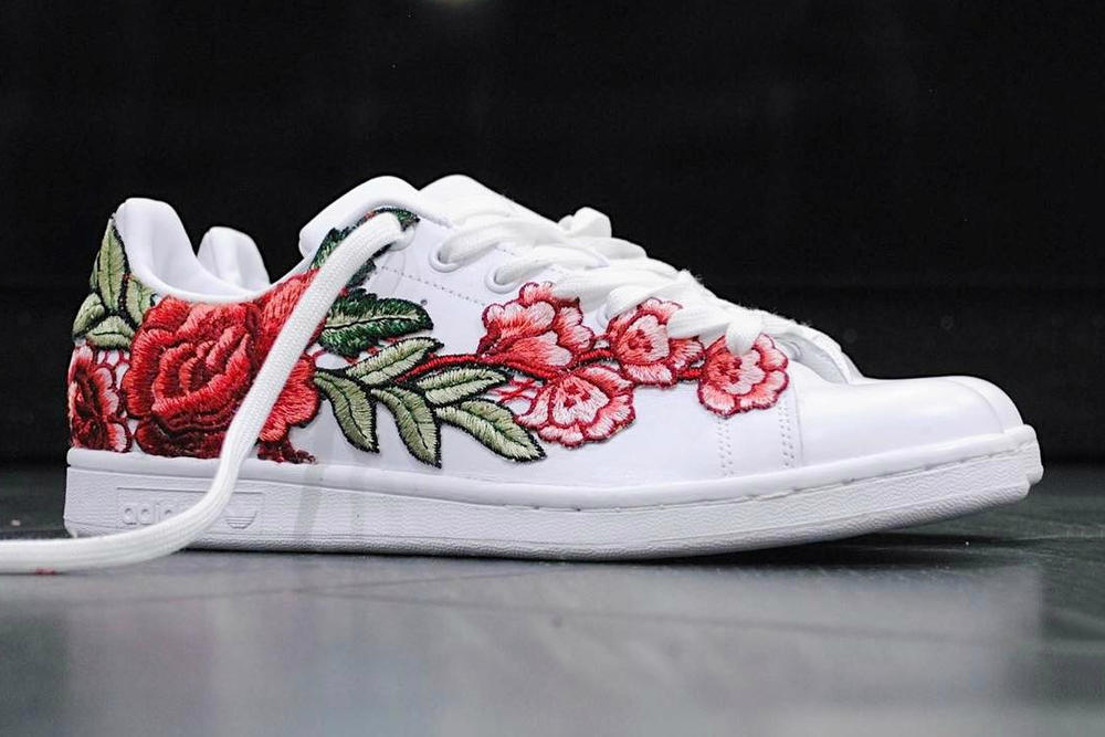 ad6e56b475aa Check out adidas Stan Smith Flowerbomb Custom