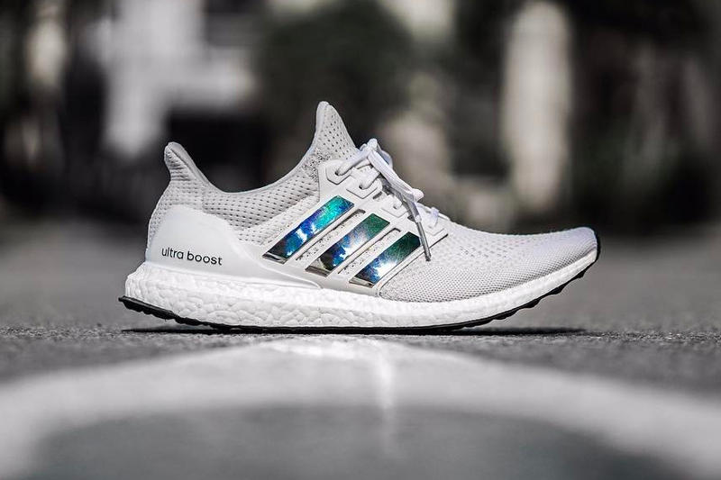 best sneakers 9a648 13fbb adidas UltraBOOST 3.0 Iridescent Stripes