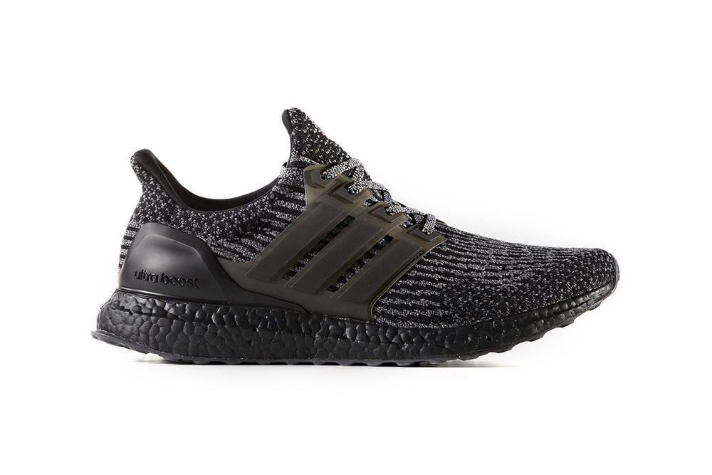adidas UltraBOOST 3.0 Triple Black Translucent cage