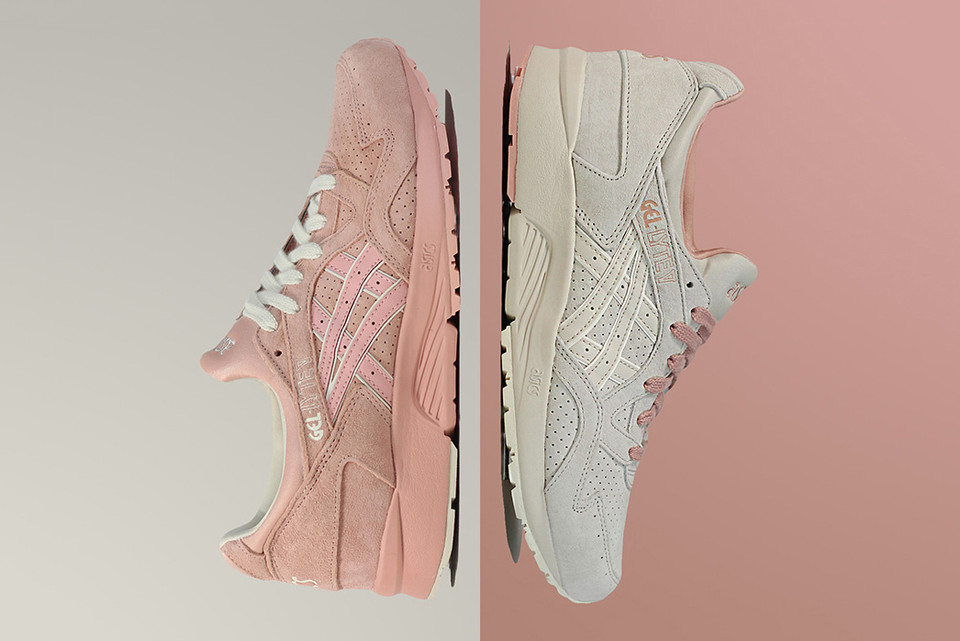 6d80cee57f96 ASICS GEL-Lyte V Dips Into Peach and Birch