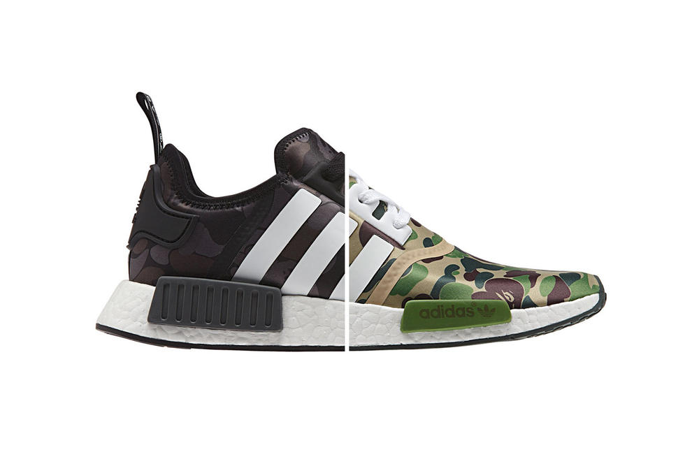 huge discount 53dca 8962e BAPE x adidas Originals NMD R1