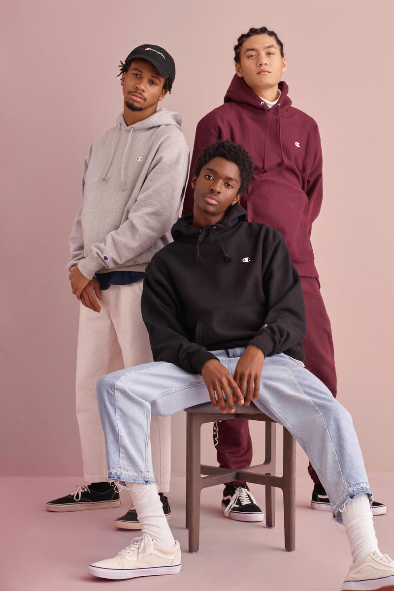 Champion x Hanes x Urban Outfitters 2017 Campaign