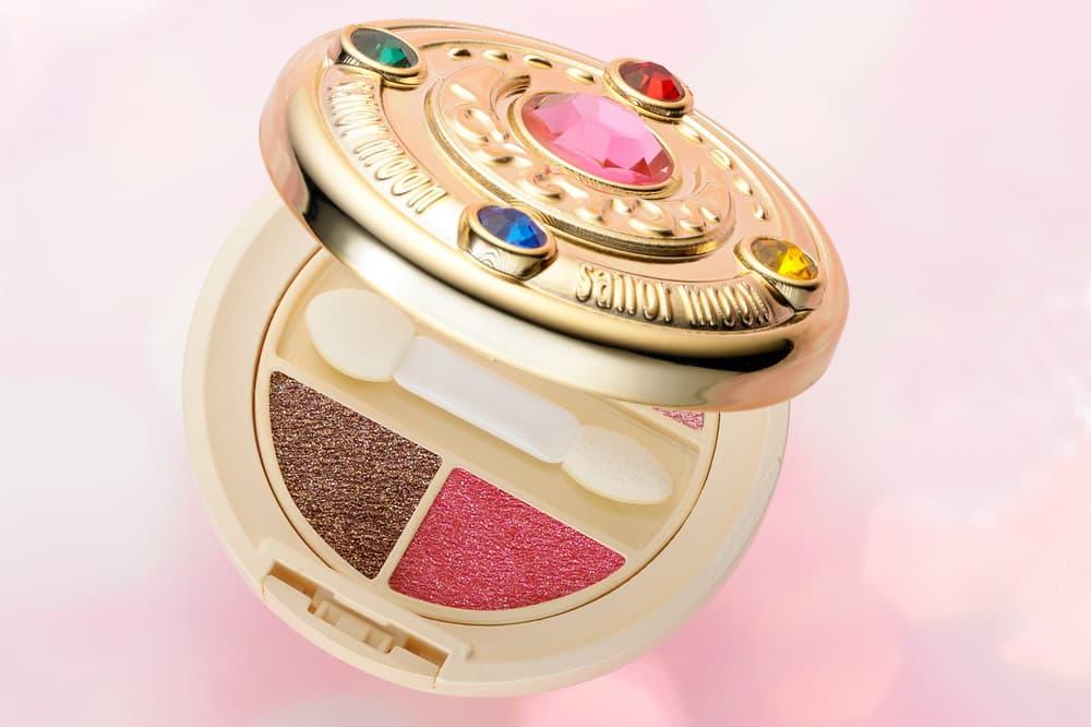 Sailor Moon Eyeshadow Palette Compact Creer Beaute