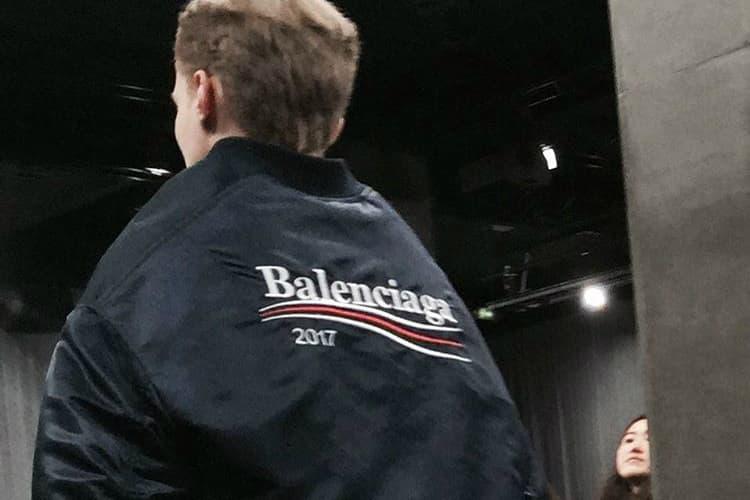 Demna Gvasalia Balenciaga 2017 Men's Collection Bernie