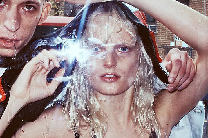 Hanne Gaby Odiele Alexander Wang 2016 Spring Summer Campaign