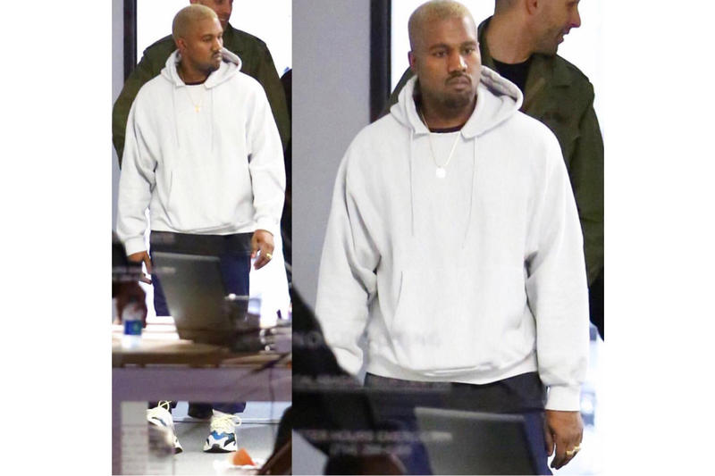 186b8bc048b Kanye West Spotted wearing adidas  2017 Fall YEEZY Items