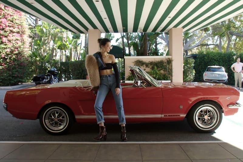 Kendall Jenner Mustang