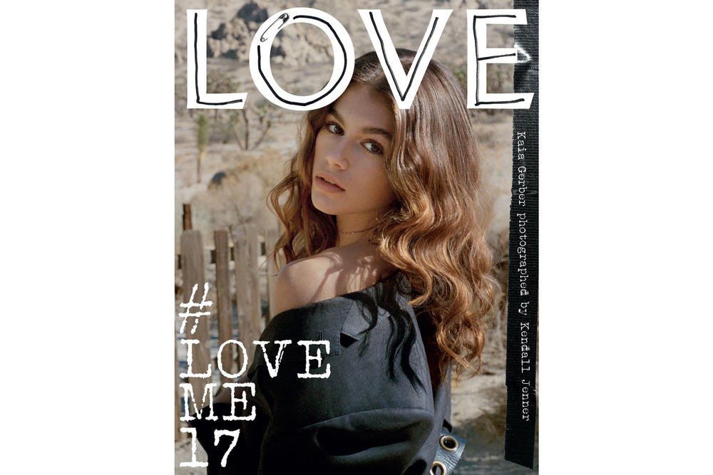 Kendall Jenner Kaia Gerber LOVE Magazine Issue 17 Cover