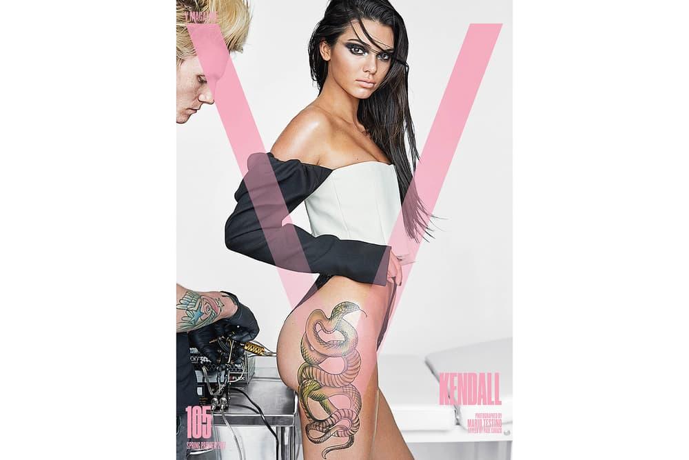 Kendall Jenner V Magazine Cover 2017 January