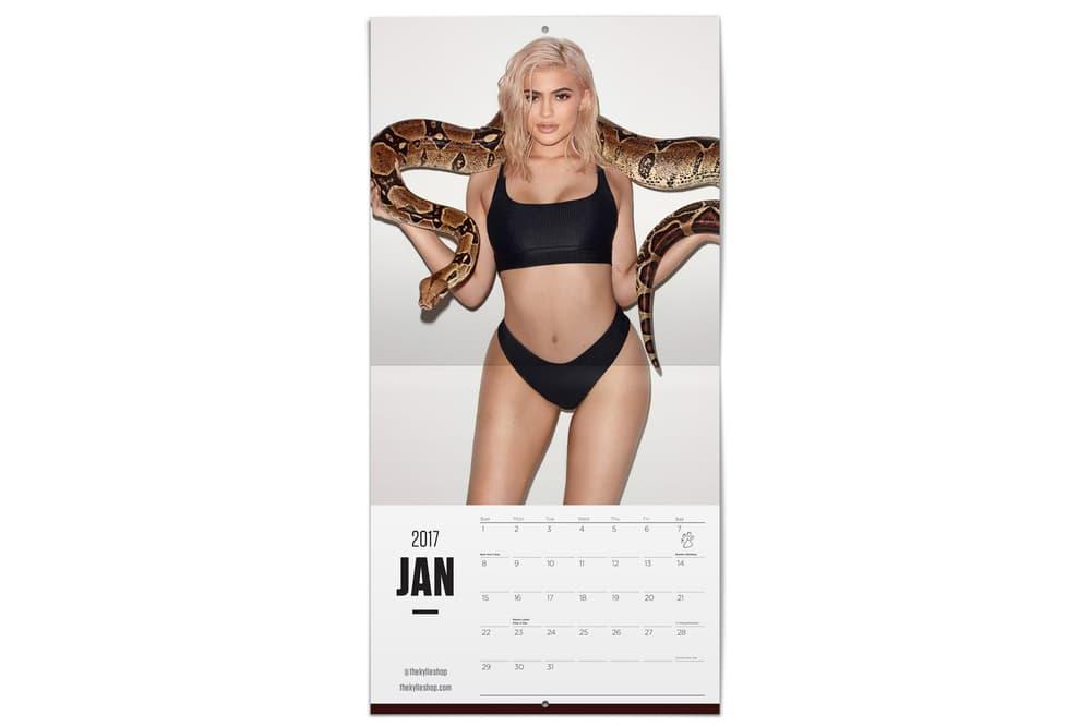 Kylie Jenner Terry Richardson 2017 Calendar