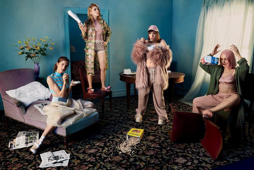 Lena Dunham Girls Glamour Magazine Zosia Mamet