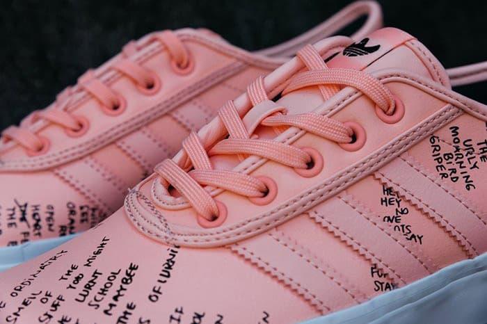 sale retailer 0972e 97824 Mark Gonzales x adidas Adi-Ease Pink
